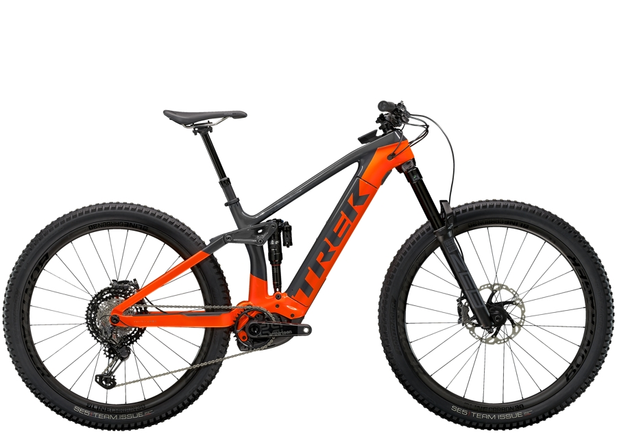 Trek Rail 9.9 XTR XL Solid Charcoal/Radioactive Orange