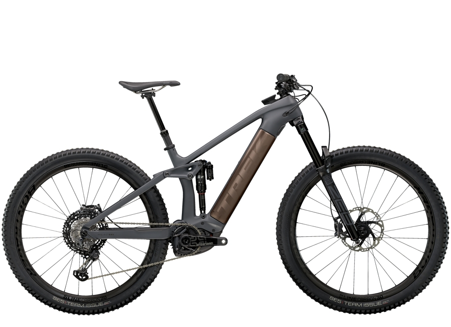 Trek Rail 9.9 XTR XL Solid Charcoal to Root Beer Ano Decal