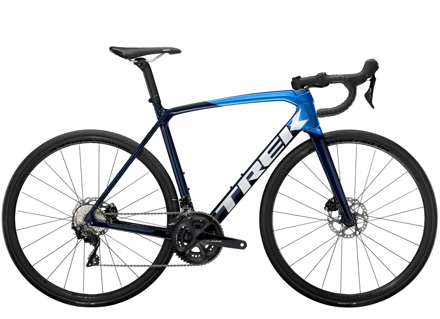 Trek Émonda SL 5 Disc 52 Carbon Blue Smoke/Metallic Blue